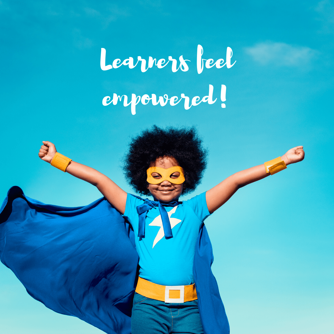 Beyond learning within the boundaries of the grade level, age group or subjects, we aim at developing lifelong learners who believe in themselves, who are unstoppable and empowered.