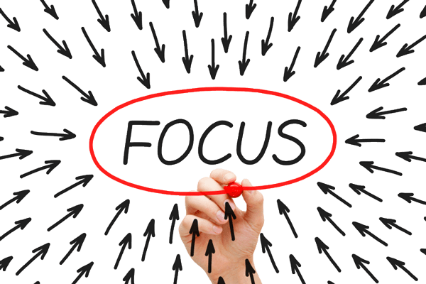 What Are You Focused On? | The No BS Coaching Advice Podcast