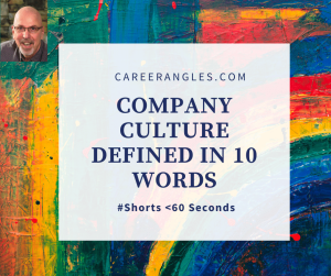Company culture defined in 10 words