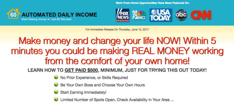 Automated Daily Income System | NO BS Online Business Reviews