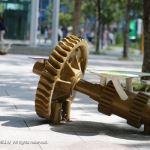豊洲の歯車?