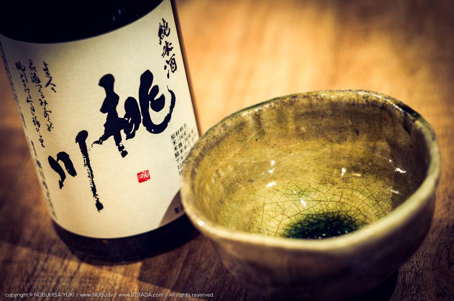 純米酒 桃川