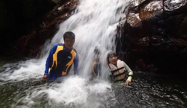 青の洞窟カヤック&滝あそび