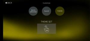 customise theme menu