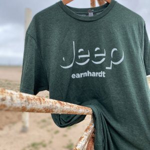 Green Jeep Earnhardt shirt