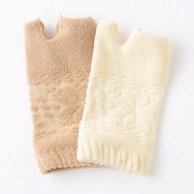 雪柄パイル手袋