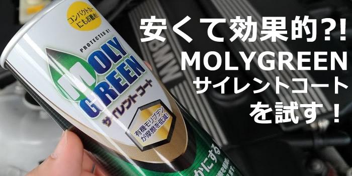 モリグリーン エンジンオイル添加剤 サイレントコート