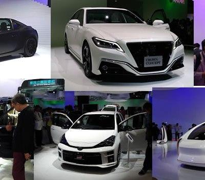 東京モーターショー・トヨタブース