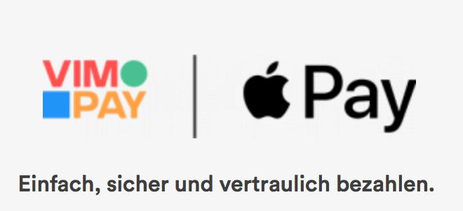 Apple Pay: Schnellstart mit VIMpay