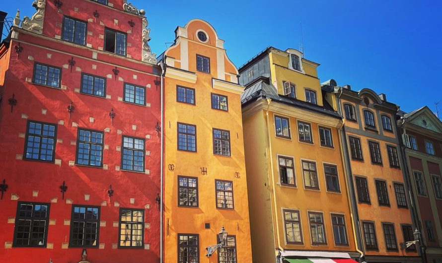Eine Woche Stockholm mit dem Zug