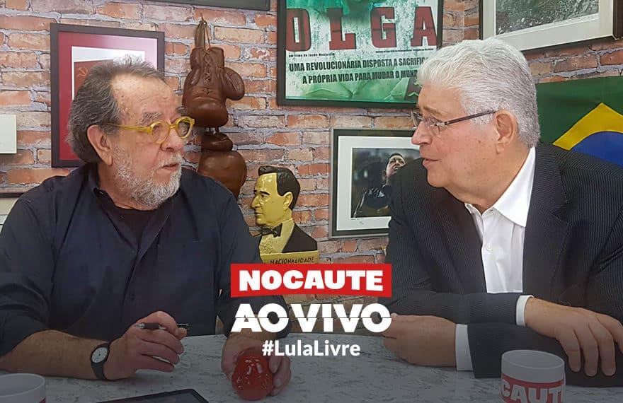 Roberto Requião Fernando Morais Lula Livre
