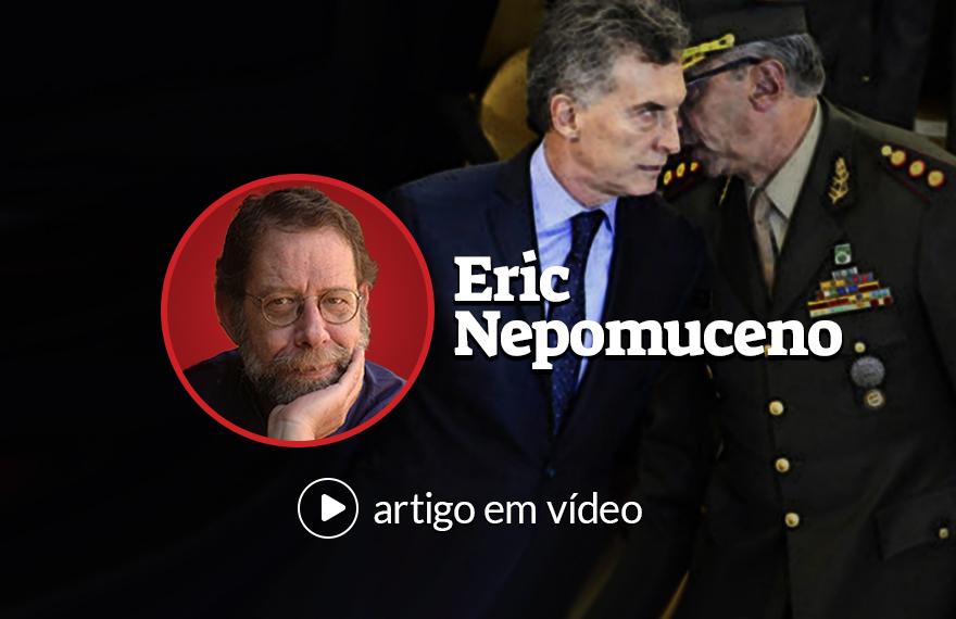 Como Temer, Macri coloca Forças Armadas para cuidar da segurança