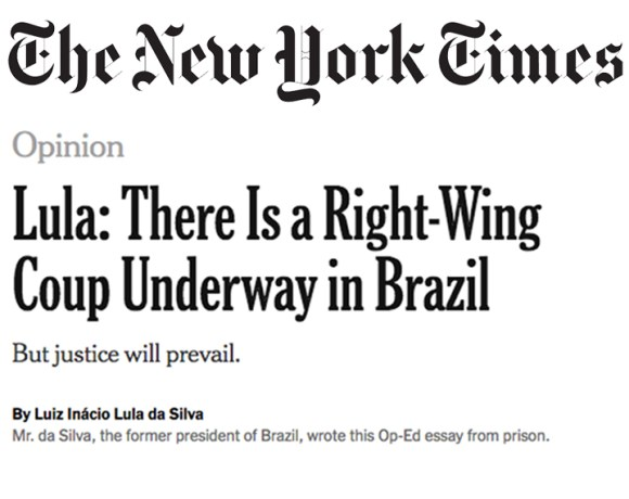Lula: Não peço para estar acima da lei