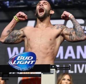 """Guilherme """"Bomba"""" Vasconcelos é um dos destaques no MMA nacional no qual também passou por inúmeras dificuldades (Foto: Reprodução)"""