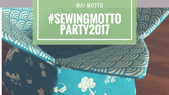 #sewingmottoparty2017 Mai Motto Blumen,