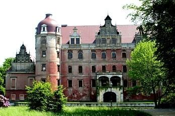 Nowy zamek na początku prac rekonstruktorskich