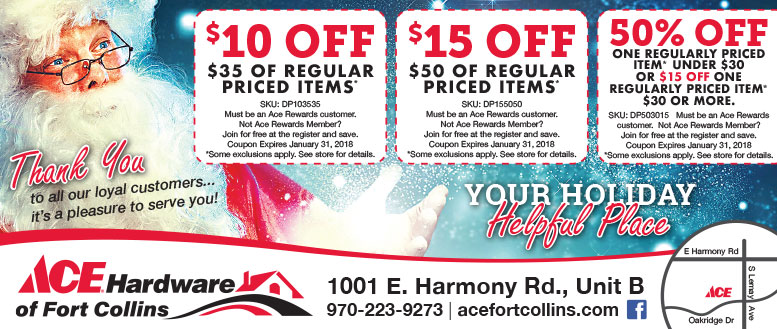 Ace Hardware of Fort Collins Coupons