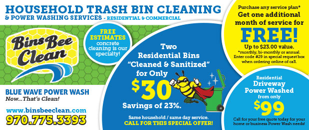 Bins Bee Clean Coupon