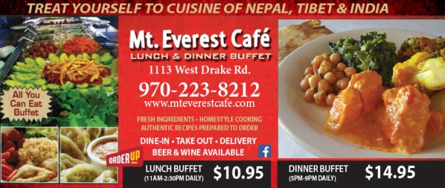 Mt. Everest Cafe Coupons
