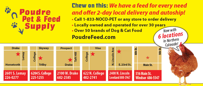 Poudre Pet & Feed locations & information