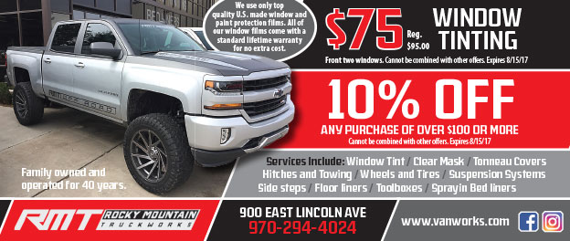 Rocky Mountain Truck Works Coupons