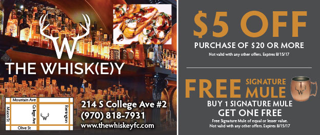 The Whiskey Bar Coupons