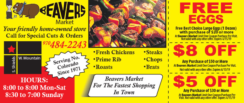 Beavers Market Meat & Egg Coupons