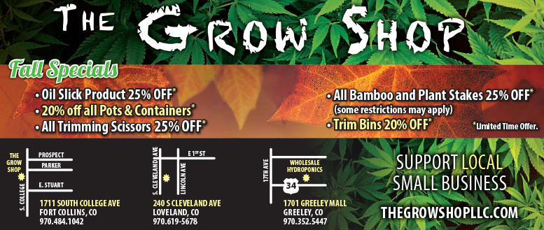 The Grow Shop Fort Collins Specials