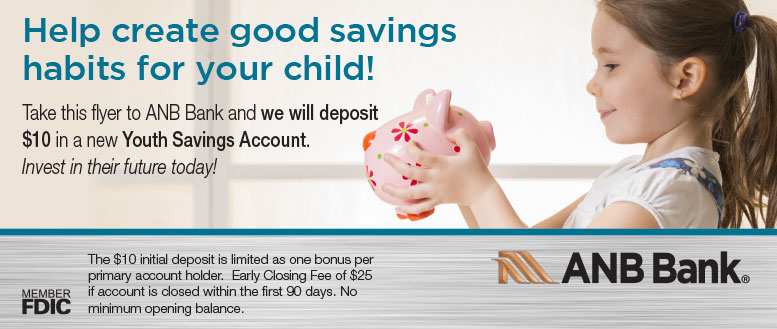 ANB Bank Fort Collins Youth Savings Account Deal