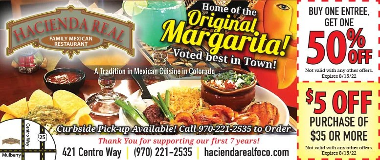 Hacienda Real Family Mexican Restaurant - Best Margaritas in Fort Collins