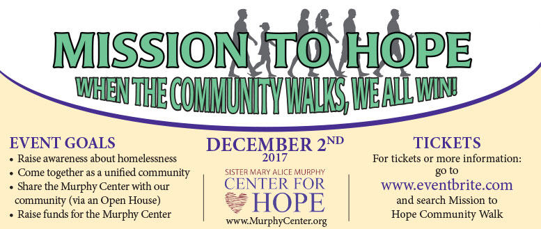 Mission To Hope Walk - December 2, 2017