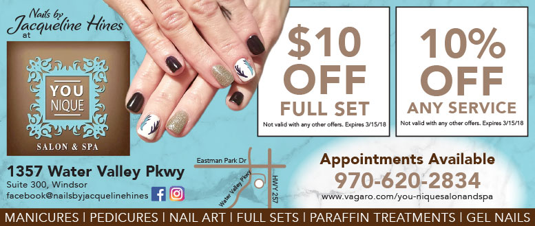 Nails by Jacqueline Hines at You-Nique Salon & Spa Coupon Deals