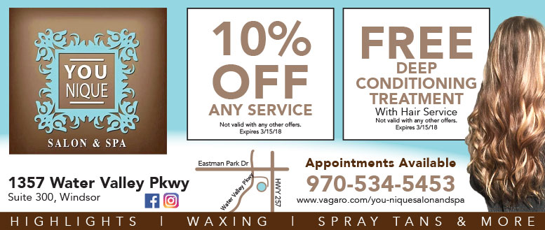 You-Nique Salon & Spa Coupons - 10% Any Service and Free Deep Conditioning Treatment