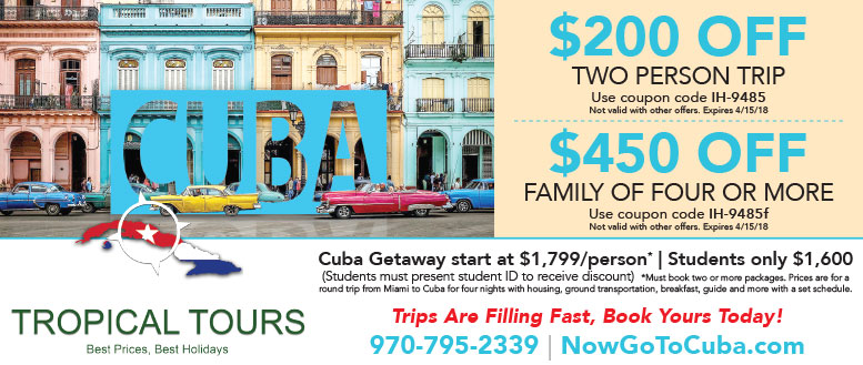 Tropical Tours - Save up to $450 on a Cuba Getaway