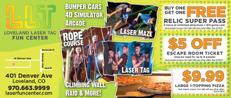 Loveland Laser Tag & Fun Center Coupon Deals