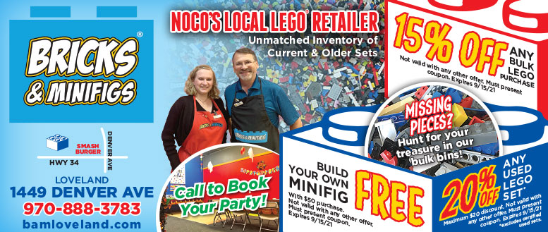 Bricks & Minifigs Coupon Deals - $5 Off or Free Build-A-Fig