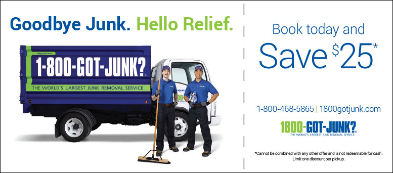 1-800-GOT-JUNK Coupon - Save $25 in Fort Collins