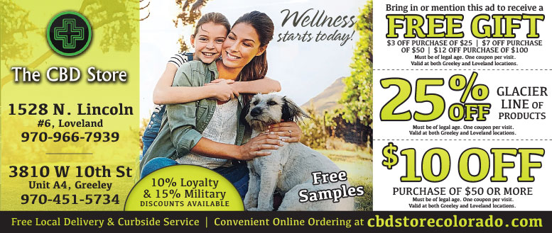 The CBD Store Grand Opening in Loveland, CO - $10 Off Coupon Deal