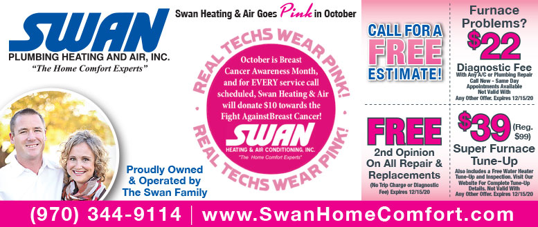 Swan Heating and Air Fort Collins - $39 Furnace Tune-up or $22 Diagnostic Fee