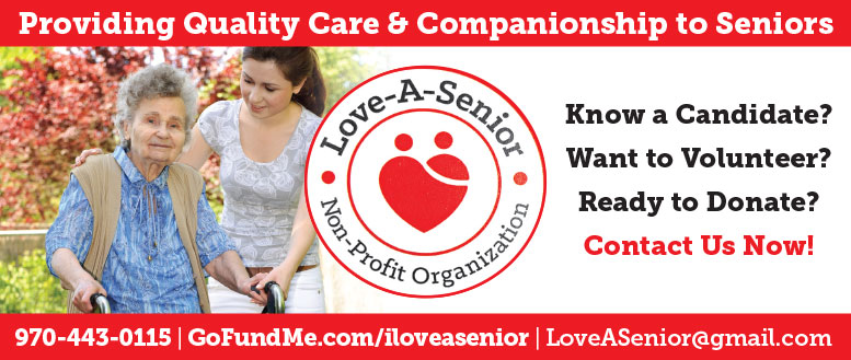 Love A Senior Non-Profit in Fort Collins - Volunteer or Donate Today!
