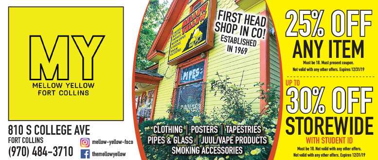 Mellow Yellow, Fort Collins Coupon Deals