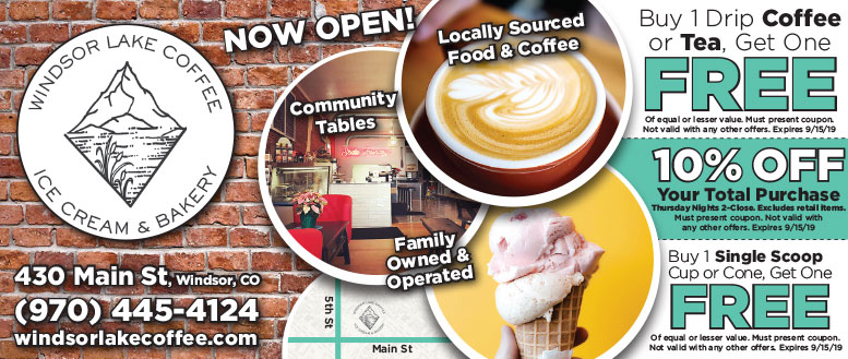 Windsor Lake Coffee, Ice Cream & Bakery Coupon Deals - BOGO Coffee or Tea