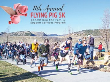 Flying Pig 5K in Fort Collins