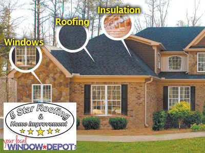5 Star Roofing Home Improvement in Northern Colorado