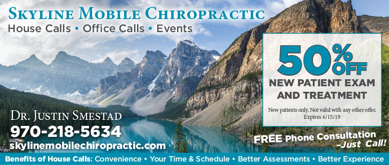 Skyline Mobile Chiropractic Coupon Deal in Fort Collins