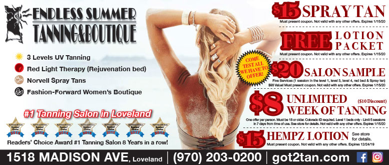 Endless Summer Tanning & Boutique Coupon Deals
