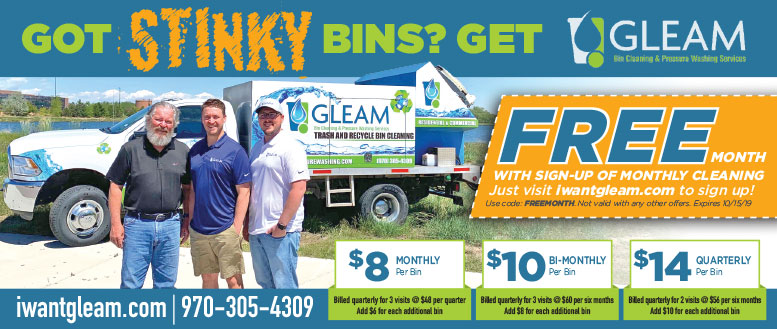 Gleam Trash Bin Cleaning Coupon Deal