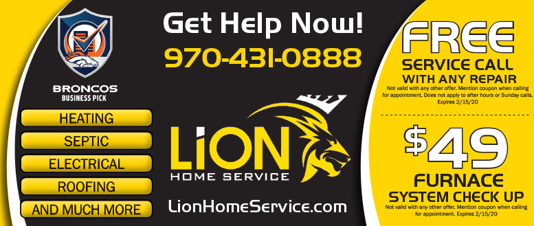 Lion Home Service of Northern Colorado - Air Conditioning & Roofing Coupon Deals