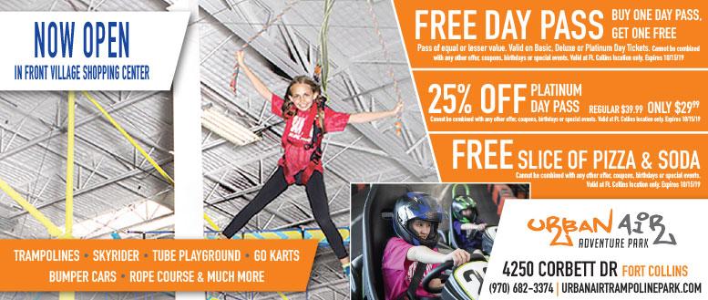 Urban Air Adventure Park, Fort Collins Coupons Deals