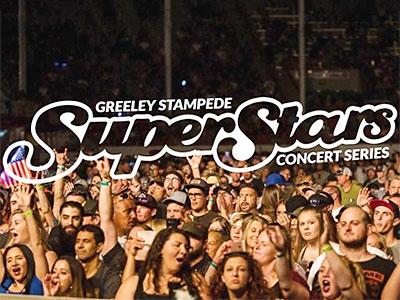 Greeley Stampede SuperStars Concert Series